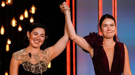 Concha de Oro para la rumana 'Blue Moon' y triunfo de las cineastas en el palmarés de San Sebastián