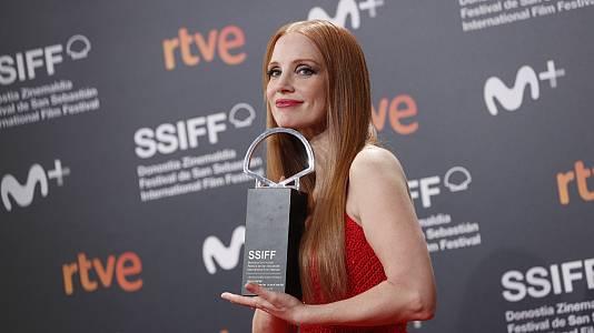 Glamour en la gala de clausura del Festival de Cine de San Sebastián