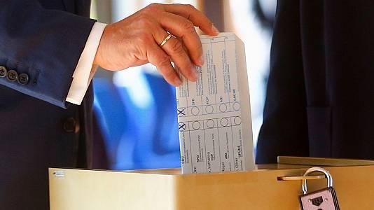 El voto del candidato conservador alemán, Armin Laschet, es válido a pesar de no haber sido secreto