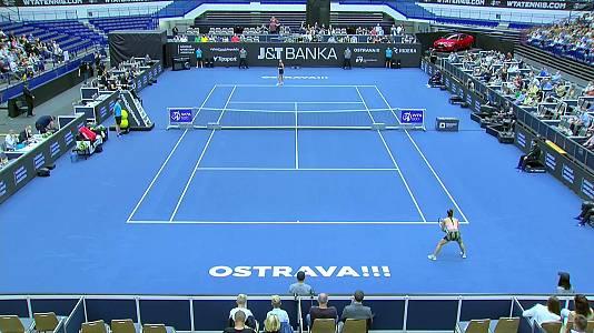WTA 500 Torneo Ostrava. Final: M. Sakkari - A. Kontaveit
