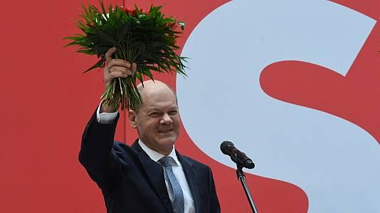 El SPD gana por la mínima las elecciones en Alemania