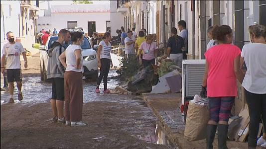 Lepe intenta volver a la normalidad tras las inundaciones