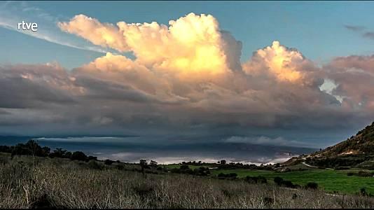 Intervalos nubosos  en todo el área mediterránea, incluida Baleares