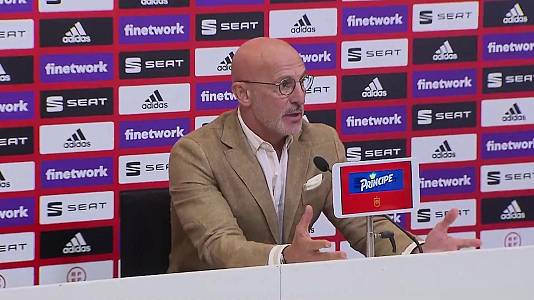 Rueda de prensa de Luis De la Fuente, seleccionador Sub-21