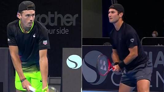 ATP 250 Torneo Sofia: Giron - De Minaur