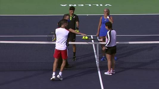 Torneo J. C.Ferrero Sport Academy. Homenaje a Carla Suárez