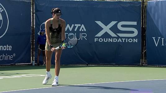 WTA Torneo Chicago. 1/4 Final: M. Hontama - G. Muguruza