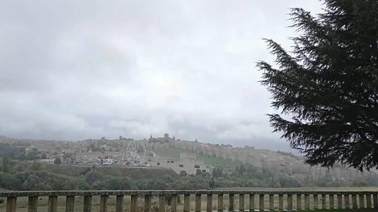 Precipitaciones localmente fuertes o persistentes en Galicia, área Cantábrica, Pirineos y Cataluña