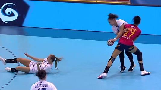 Clasif. Cto. Europa Femenino. 1ª jornada: España-Eslovaquia