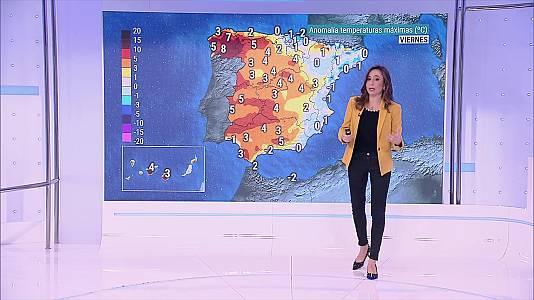 Vientos con rachas fuertes en Ampurdán, Menorca y el Estrecho