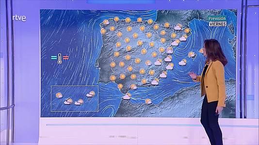 Las temperaturas mínimas descienden en el valle del Duero y cuadrante nordeste peninsular, con alguna helada débil aislada en Pirineos