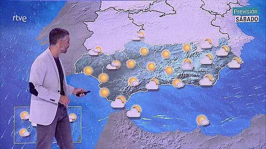 Intervalos nubosos en todo el área mediterránea, con posibilidad de algunas precipitaciones en general débiles en todo el extremo oriental de la Península y oeste de Baleares