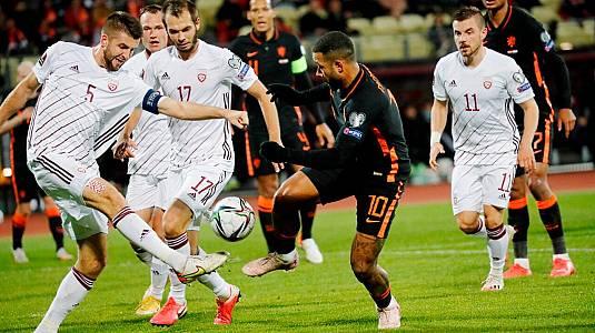 Clasificación Campeonato del Mundo: Letonia - Países Bajos