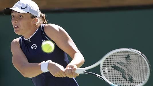 WTA 1000 Torneo Indian Wells: V. Kudermetova - I. Swiatek