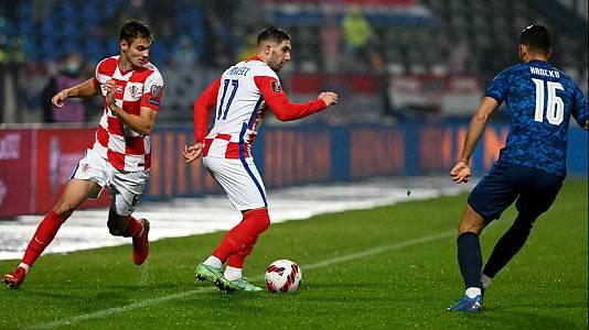 Clasificación Campeonato del Mundo 2022: Croacia-Eslovaquia