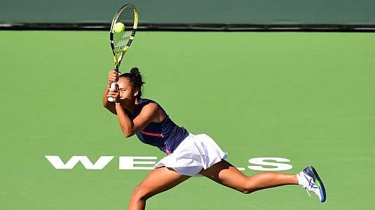 WTA 1000 Torneo Indian Wells: Rogers - Fernández