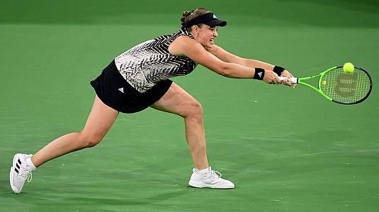 WTA 1000 Torneo Indian Wells. 1/4 Final:S.Rogers-J.Ostapenko