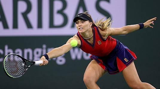 WTA 1000 Torneo Indian Wells. 1/4 Final: Badosa - Kerber