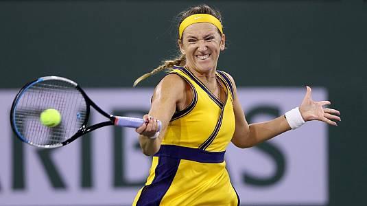 WTA 1000 Torneo Indian Wells. 1ª Semif: Azarenka - Ostapenko