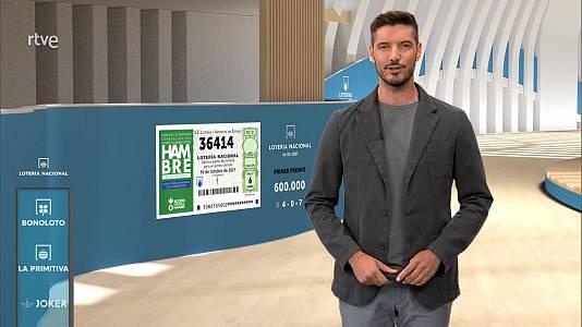 Sorteo de la Lotería Nacional del 16/10/2021
