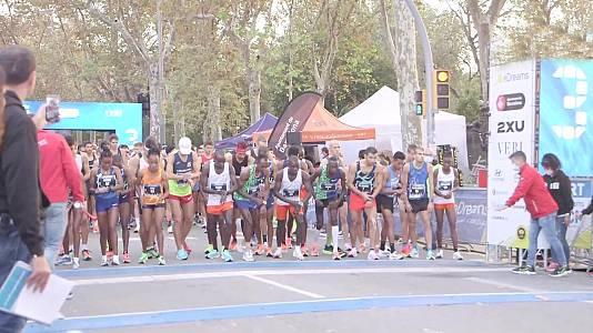 Media Maratón de Barcelona. Resumen
