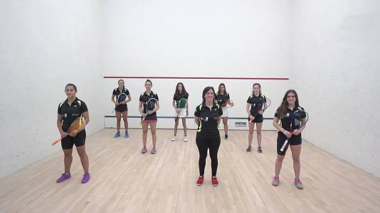 """Squash - Documental """"Ellas, el presente y el futuro del squash"""""""