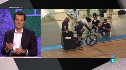 Pep Tatché, rècordman en ciclisme en pista