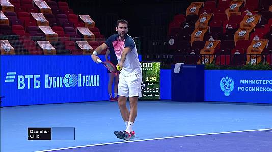 ATP 250 Torneo Moscú: P. Dzumhur - M. Cilic