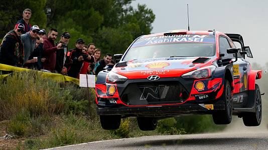 Campeonato del Mundo Rally Cataluña. Resumen 18/10/21