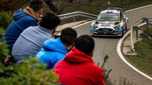 Campeonato del Mundo Rally Cataluña. Resumen 17/10/21