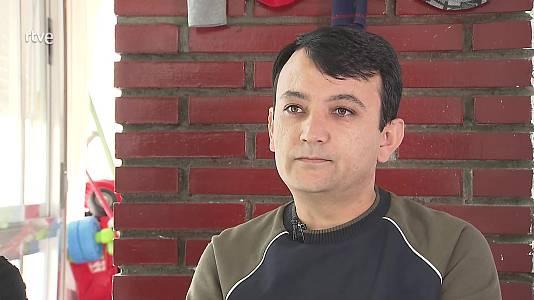 Dolor y esperanza de una familia refugiada afgana