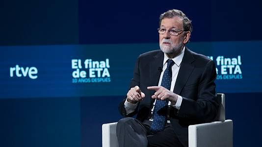 10 años sin ETA. Entrevista a Rajoy