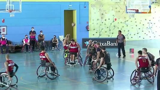 Baloncesto en silla de ruedas - Liga BSR División honor. Resumen jornada 2