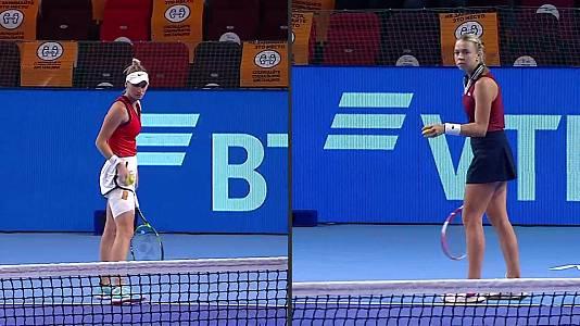 WTA 500 Torneo Kremlin Cup. 1ª Semif: Vondrousova - Kontavei