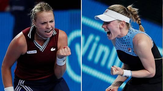 WTA 500 Torneo Kremlin Cup. Final: Alexandrova - Kontaveit
