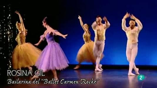 Profesora de danza. Carmen Roche