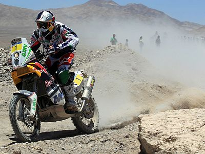 Rally Dakar 2011, 4ª etapa