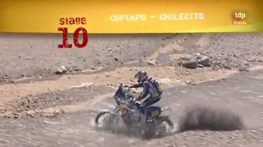 Rally Dakar 2011, 10ª etapa