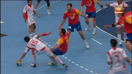 España 33-22 Bahrein