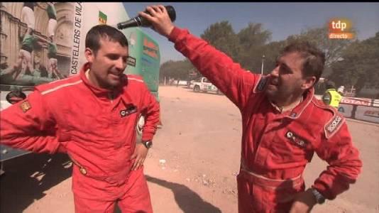 Rally Dakar 2011. Podiums