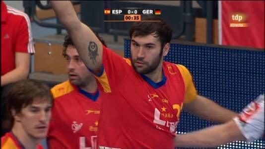 Balonmano : España-Alemania