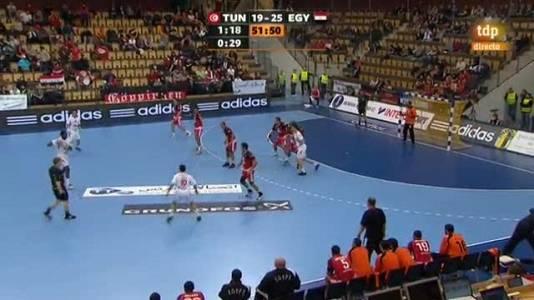 Túnez 23-27 Egipto