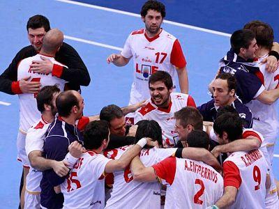 Balonmano : España 28-28 Francia