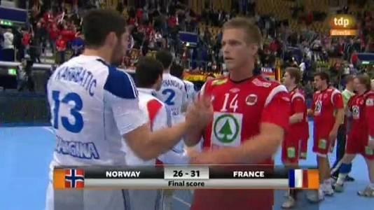 Balonmano: Noruega-Francia