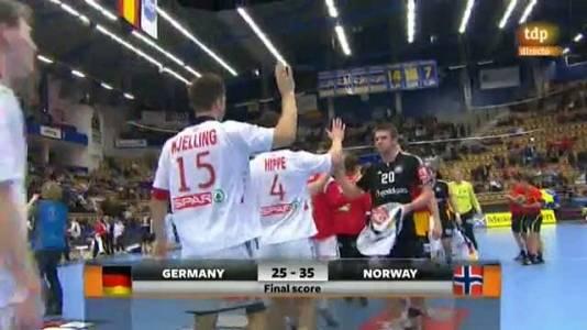 Balonmano: Alemania-Noruega