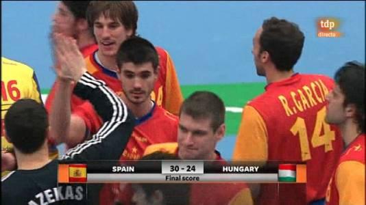Balonmano: España-Hungría