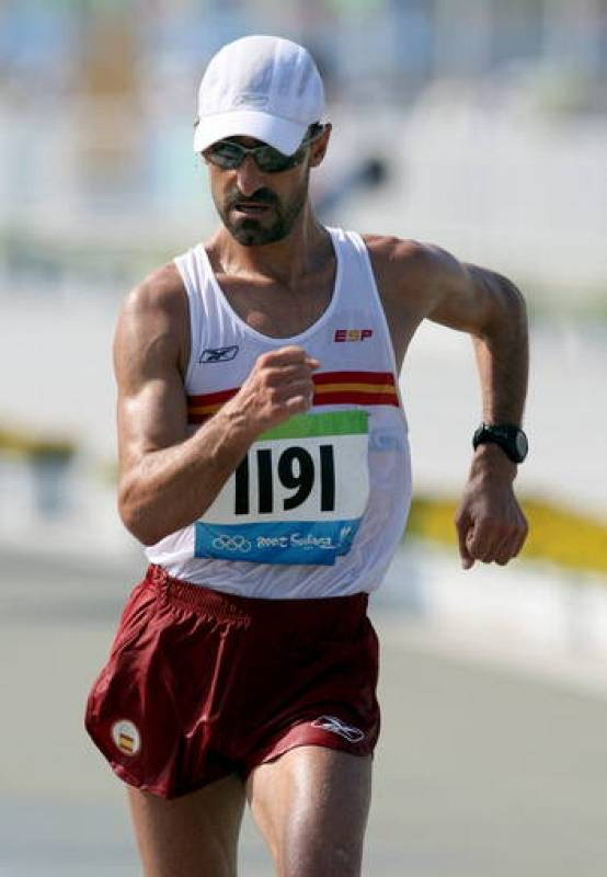 Jesús Ángel García Bragado ha quedado cuarto en la prueba de 50 kilómetros marcha.