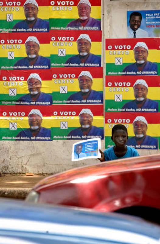 Vieira ganó las elecciones en octubre de 2005