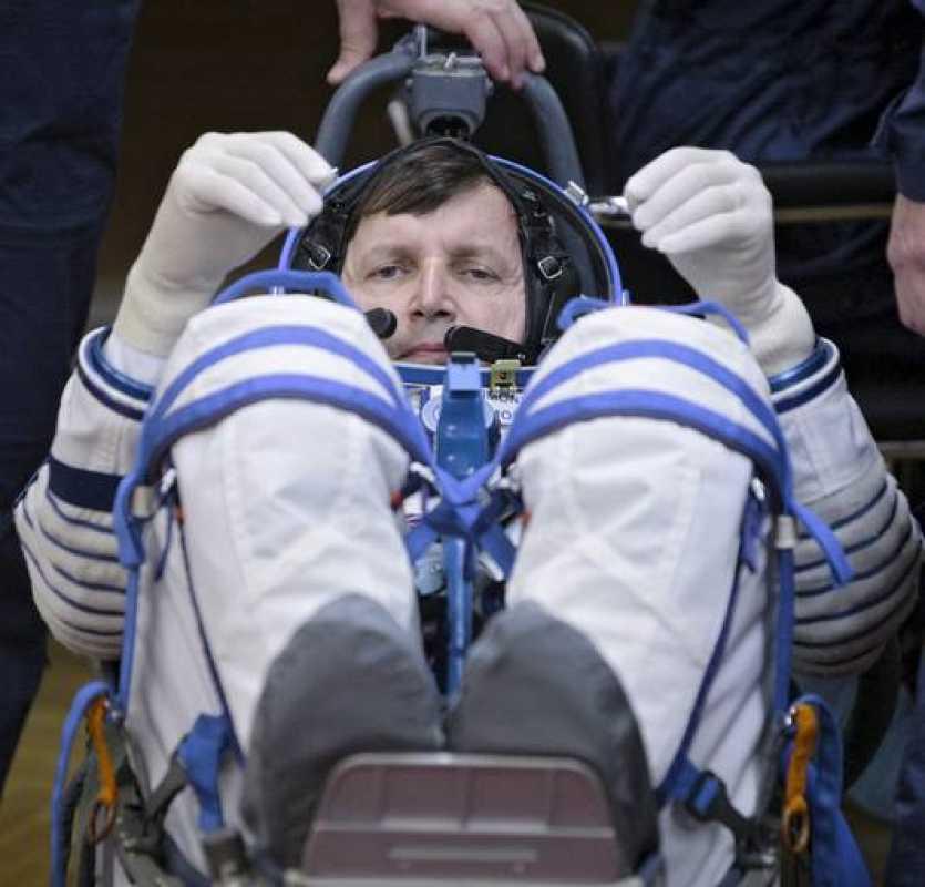 El magnate informático estadounidense Charles Simonyi viaja por segunda vez a la Estación Espacial Internacional.