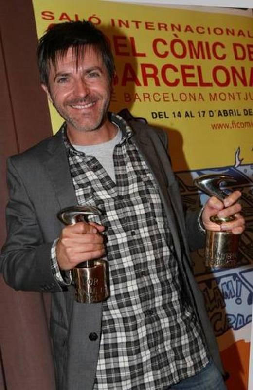 """""""El invierno del dibujante"""", de Paco Roca (Astiberri), ha obtenidolos galardones a la mejor obra y mejor guión"""